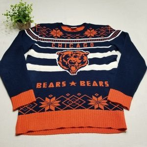 Chicago Bears Size Large Sweater EE40